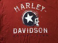 Harley Davidson Speed Legend Red Shirt NWT Men's XXL