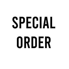 More details for special order