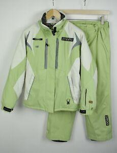 SPYDER DERMIZAX-EV 20.000mm X-STATIC Women's M Jacket & Pants Ski Suit 21336-JS