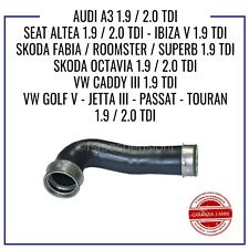 MANICOTTO INTERCOOLER TUBO ARIA VW GOLF V 1.9 2.0 TDI TK0145834L 1K0145834G