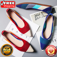The Pointed Toe Flats Environmental Womens shoes variety colors SIZE US 4-7 New