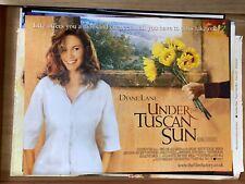 Under The Tuscan Sun (2003) DIane Lane Original UK Quad Film Poster