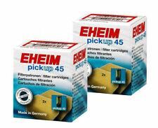 Eheim Filterschwämme 2x Patronen für pickup 45 Innenfilter 2006020 im Doppelpack