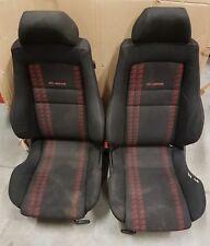 VW Golf MK3 Vento 3DR Gti Edición Limitada Interior Tarjetas de asiento recaro Rojo Negro 1