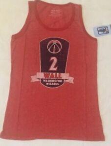 NEW NBA John Wall Washington Wizards Basketball Tank Top Women Ladies L NEW NWT