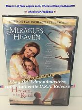 Miracles From Heaven & Heaven Is For Real combo pack New Sealed Ships Fast!!