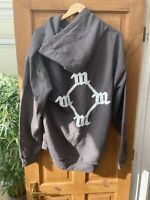 MEX Charcoal Grey All Day So Help Me God Madonna Hoodie Size XL Kanye West
