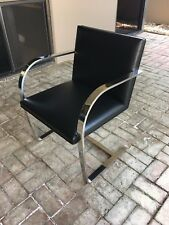 AUTHENTIC BRNO CHAIR FLAT BAR Ludwig Mies van der Rohe COMPLETE RESTORATION