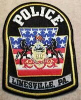 ELLWOOD CITY PENNSYLVANIA PA POLICE PATCH