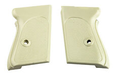 Walther PPK Pistol Grips, White Plastic