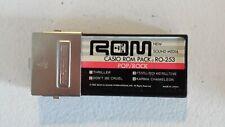 Vintage Casio Rom Pack Ro-253 Pop Rock Michael Jackson, Culture Club, Billy Joel