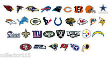 """NFL  2"""" cupcake Edible Toppers Football Game Day Sports Choose Your Team"""