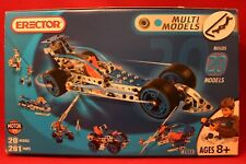 Erector Toy Motion System #6520 Meccano Builds 20 Moving Models 261 Parts 2004