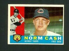 1960 Topps Baseball #488 Norm Cash Tigers NM-MT