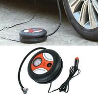 Portable 260PSI DC 12V Electric Mini Tire Inflator Auto Car Air Pump For Ca F3Z6