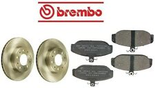 NEW Volvo 740 1985-1990 Best Value Front Complete Disc Brake Rotors & Pads KIT