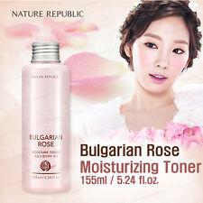 NATURE REPUBLIC Bulgarian Rose Moisture Toner 155ml Moist / Korea Cosmetic