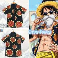 Anime One Piece Luffy Corrida Colosseum Cosplay Sunflower T-Shirt Asian Size New