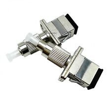 5pcs FC Male to SC Female Fiber Optic Adapter Hybrid Adapter for FTTH Cables
