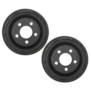 🔥Set of 2 Rear Brake Drums For Dodge Ramcharger W150 B150 B250 Mirada🔥