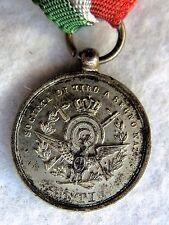 1) Medaglia Argento Società Tiro A segno Asti UITS Monarchia Savoia