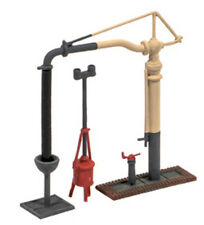 Ratio N Gauge Track, Station, Layout Plastic Kit No:212Water Crane & Fire Devil