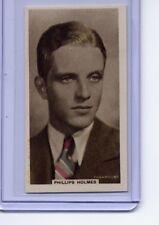 Godfrey Phillips 1934 Cinema Stars (Hand Colored) #3 Phillip Holmes MT- Bright