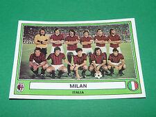 PANINI EURO FOOTBALL 78 N°142 MILAN AC ROSSONERI ITALIE ITALIA 1977-1978