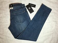 NWT $88 - Rock and Republic Misses Emo On Deck Skinny Boyfriend Jeans - Size 0