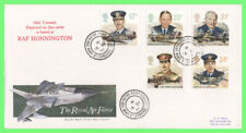 G.B. 1986 RAF set on Royal Mail First Day Cover, 'Honnington Camp' cds