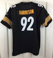 2daa9489d James Harrison  92 Pittsburgh Steelers Stitched Jersey Reebok Youth Sz L  (14-16