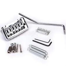 Chrome Plated Tremolo System Kit for Fender Stratocaster Strat Guitar Parts