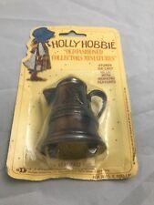 Holly Hobbie Miniature No. 43 Coffee Pot Die Cast Metal 1976