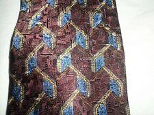 Barrington Tie Multi-Color Geometrical Print NWT 100% Silk NWT