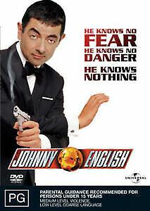 Johnny English DVD NEW Region 4
