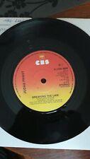Judas Priest – Breaking The Law  7 Inch Vinyl  Rare CBS – 8644