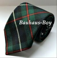 NECK TIE TARTAN ROBERTSON MODERN HUNTING 100% PURE WOOL MADE IN SCOTLAND MENS
