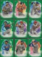 2019 Topps Inception Short Print Parallel GREEN Card singles - (CHOICE) U PICK