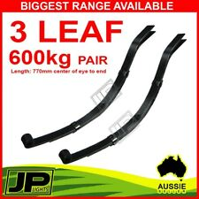 LEAF SPRING 3 LEAF EYE TO SLIPPER 45MM 600KG CAPACITY TRAILER CARAVAN OFFROAD