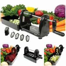 Compact Spiral Slicer Vegetable Cutter 5 Blades Veggie Pasta Maker Spiralizer