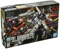 Hguc 1/144 Gundam F91 Mobile Suit Gundam F91) Gandam Plastic model gampla