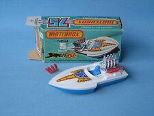 Lesney Matchbox Superfast 5 aviones Barco Azul en Caja de controlador