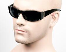 Square Cholo Sunglasses Super Dark OG LOC Gangster Style Black/Glossy 21SD