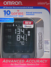 NIP New Sealed Omron 10 Series Plus Wireless Blood Pressure Monitor Adv Accuracy