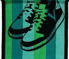 vossen strandtuch badetuch sneakers tropical green, exklusiv 100 x 180 cm