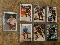 (7) Pavel Bure 1990-91 Upper Deck Rookie 1991-92 UD Pro Set Platinum card lot