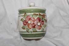 Moulin Huet Pottery Guernsey Sugar Jam Bowl and Lid