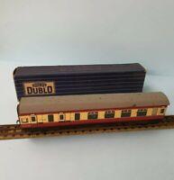 HORNBY DUBLO D12 BR corridor coach 1st/3rd 32017 LF