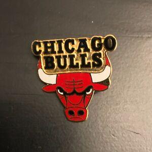 1998 Pro Specialties Chicago Bulls Logo Hat Lapel Pin Michael Jordan Years