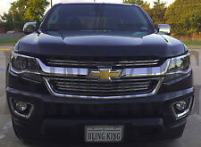 2015-2019 Chevy Colorado chrome grille insert trim horizontal grill overlay